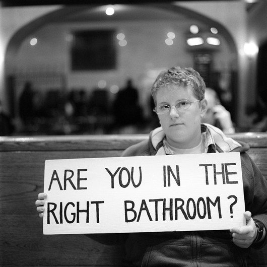 Are You In The Right Bathroom?